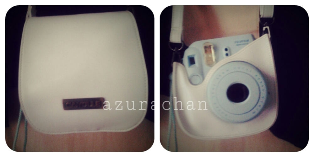Instax Mini 8 Leather Bag (1/2)