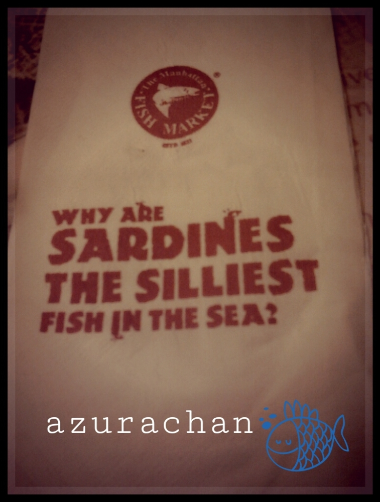 Why are sardines the silliest fish in the sea? (1/2)