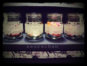 Lace bottles