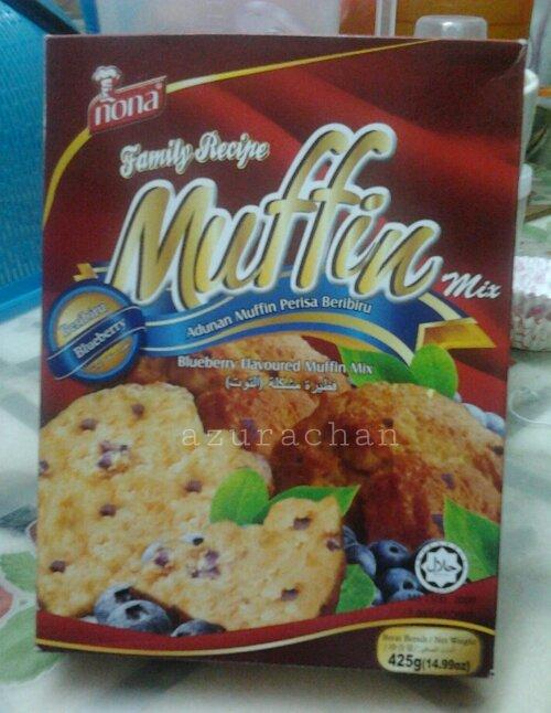 Temptation #38: Blueberry Muffins (1/2)